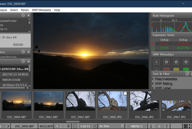 The RAW image opens effortlessly in the application Photos