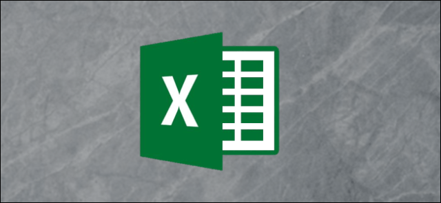 Microsoft Excel logo on a gray background
