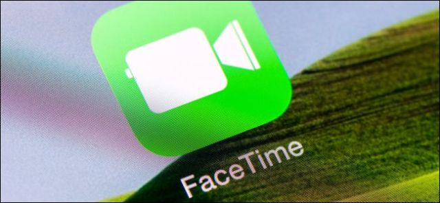 FaceTime app icon on iPhone or iPad