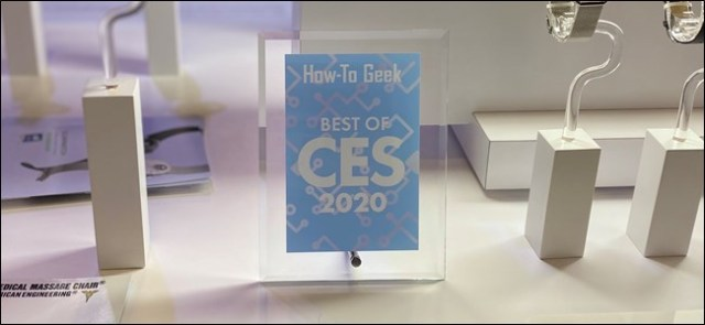 How-To Geek Best of CES Prize 2020
