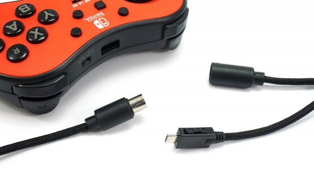 Detachable cable on the FightPad.