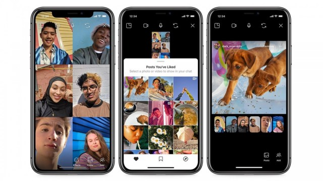 Instagram's new co-monitoring feature allows you to view Instagram posts with your friends via video chat.