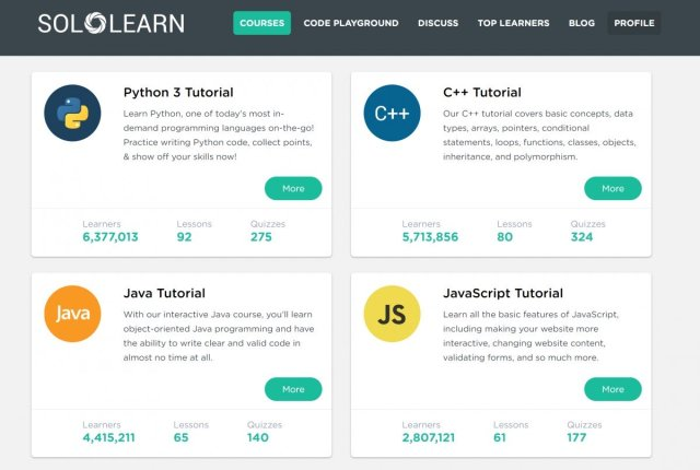 SoloLearn course