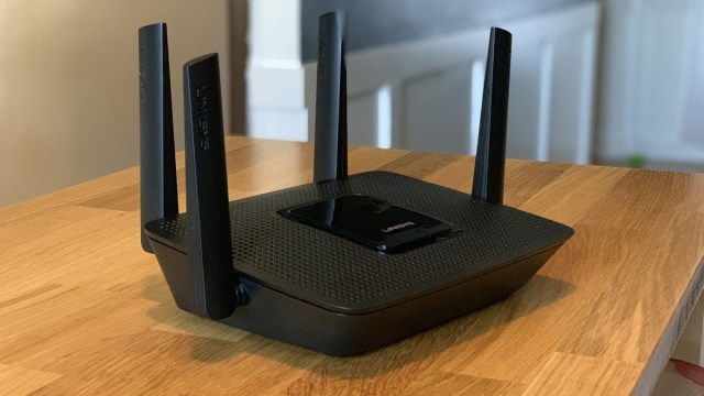 A home Wi-Fi router