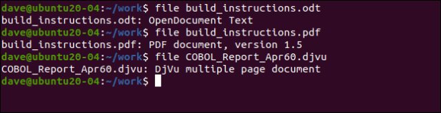 build_instructions.odt file in a terminal window.
