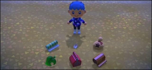 Objects abandoned by Animal Crossing