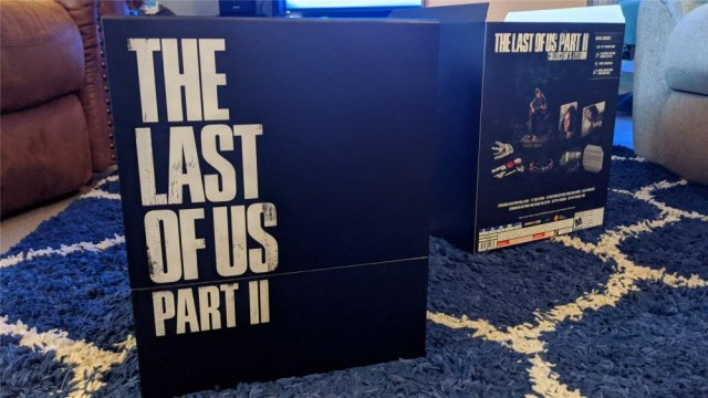 The box inside The Last of Us Part II Collector's Edition Box