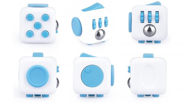 The Antsy Labs fidget cube has six total activities on each side with its own for restless hands