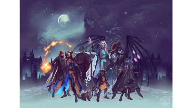 Official illustration of the critical role character