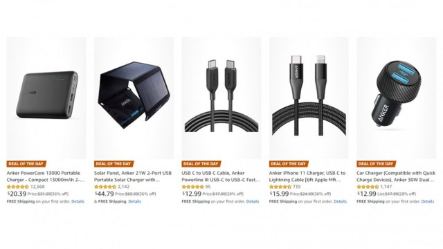 Amazon Deal of the Day Anker Charge Products