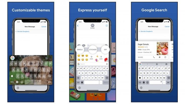 Gboard for powerful features, easy search of emojis and more
