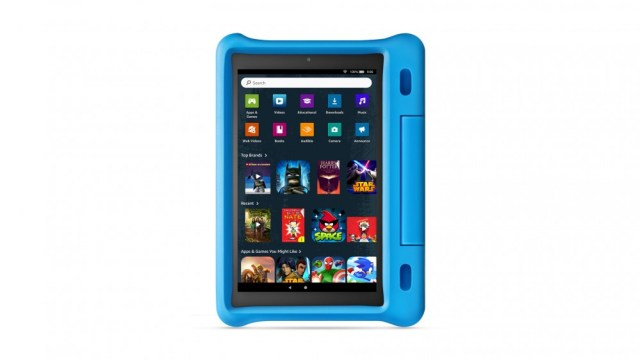An Amazon Kids fire theme that is more like an adult's fire tablet.