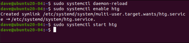 sudo systemctl daemon-reload in a terminal window