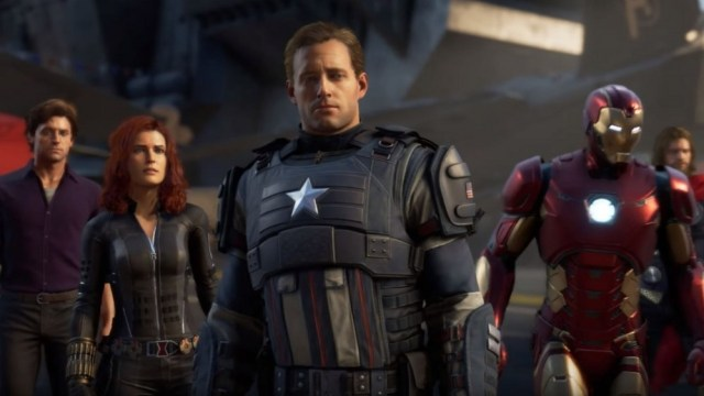 The characters of the Avengers look sad.