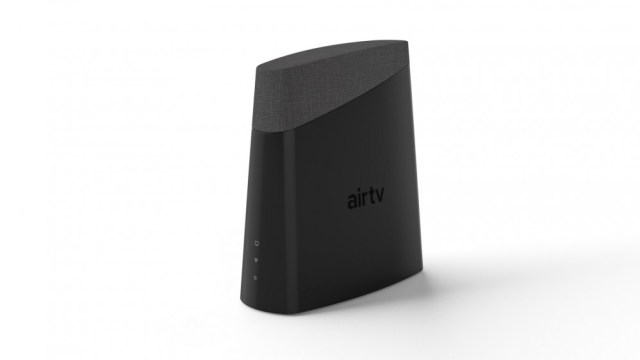 A photo of the AirTV Anywhere OTA broadcast box with DVR functionality.