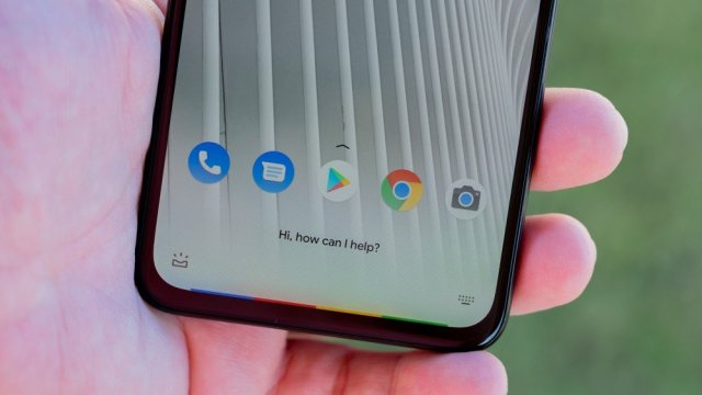Activating Google Now for the Pixel 4a 5G