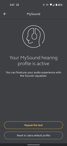 The Sound + app with the MySound function