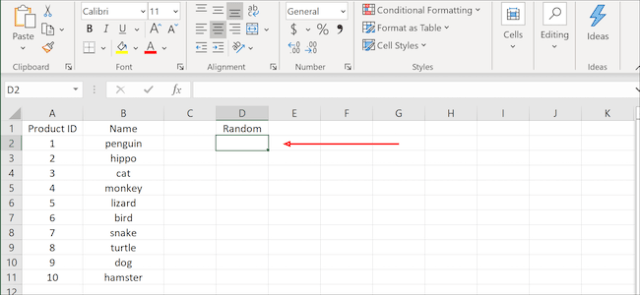 Excel highlight cell