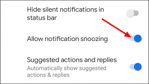allow repetition of notifications