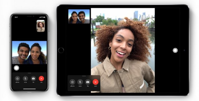 FaceTime on iPhone and iPad