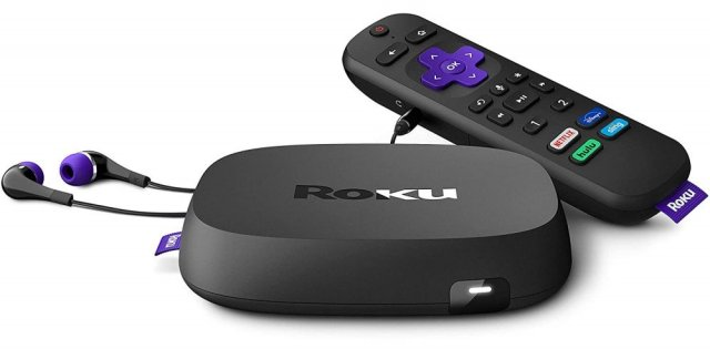 roku Ultra with remote control