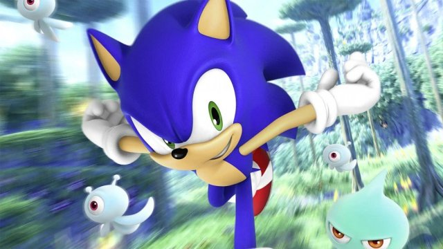 Screenshot of the game Sonic the Hedgehog