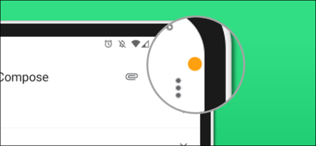 access points in the status bar