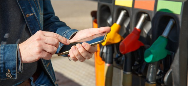 Pay for gas with a smartphone