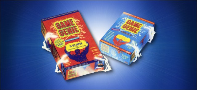 Galoob Game Genie SNES and Game Boy sets