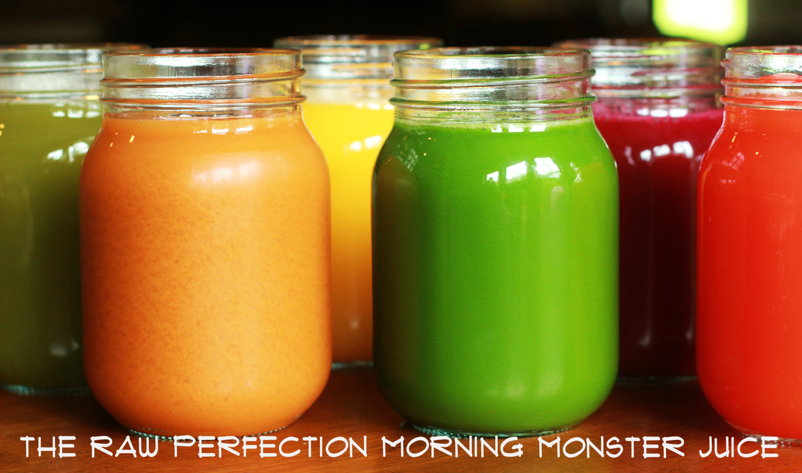 The Raw Perfection Morning Monster Juice