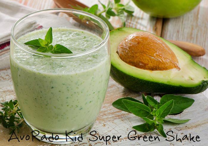 AvoRado Kid Super Green Shake