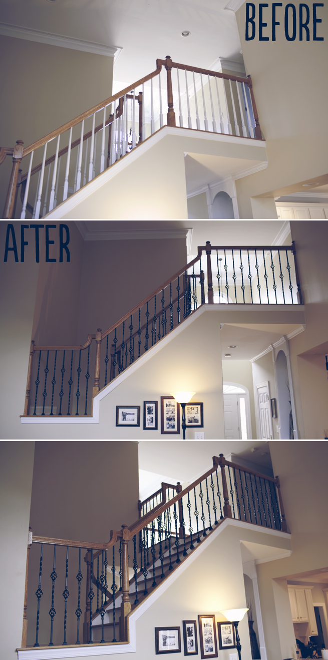 STAIR BALUSTER UPGRADE