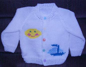 Baby/Toddler/Child Raglan Cardigan