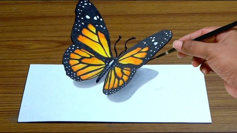 How to Draw Butterfly : Step By Step Guide | How to Draw