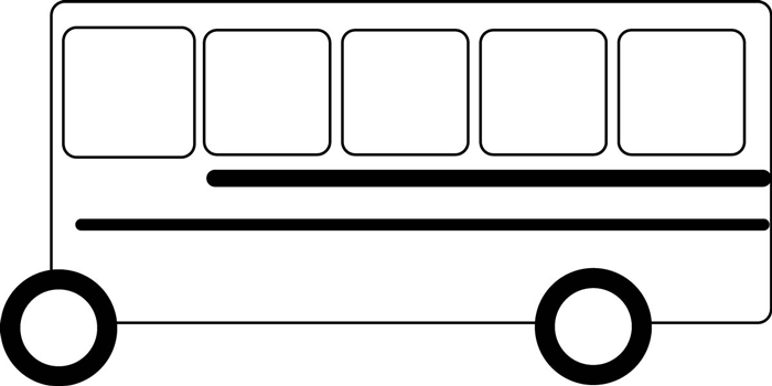 How To Draw School Busses Easy Drawing Tutorial For Kids How To Draw Dat