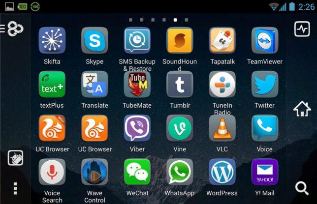 Go Launcher Ex App Drawer Image