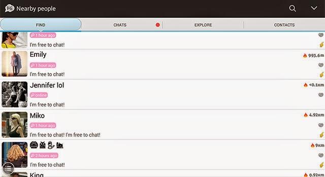SayHi app preview