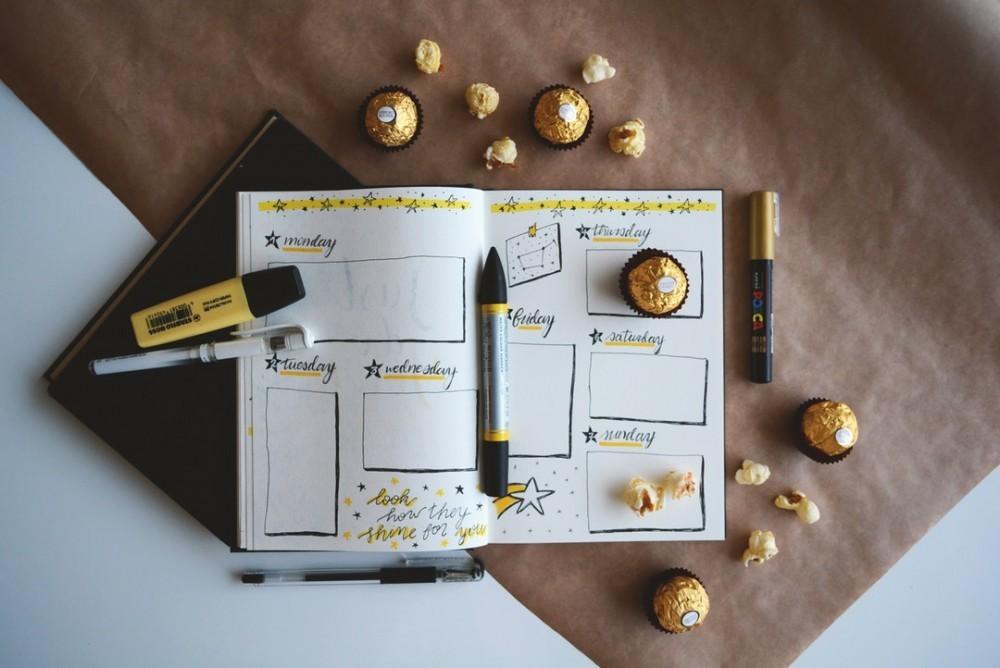 bullet journal ideas for entrepreneurs