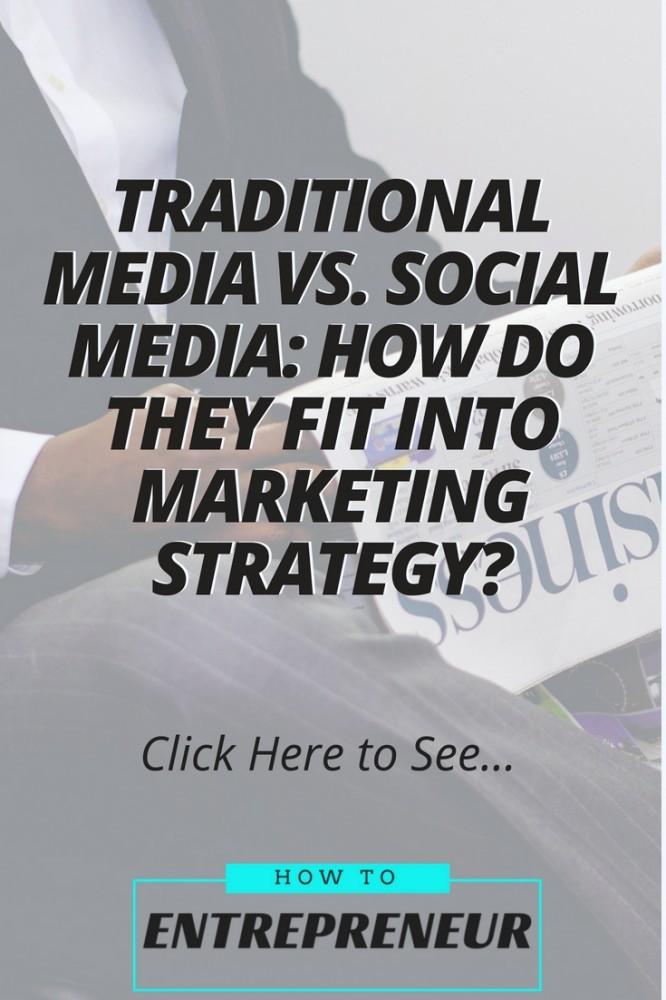 traditional media vs social media