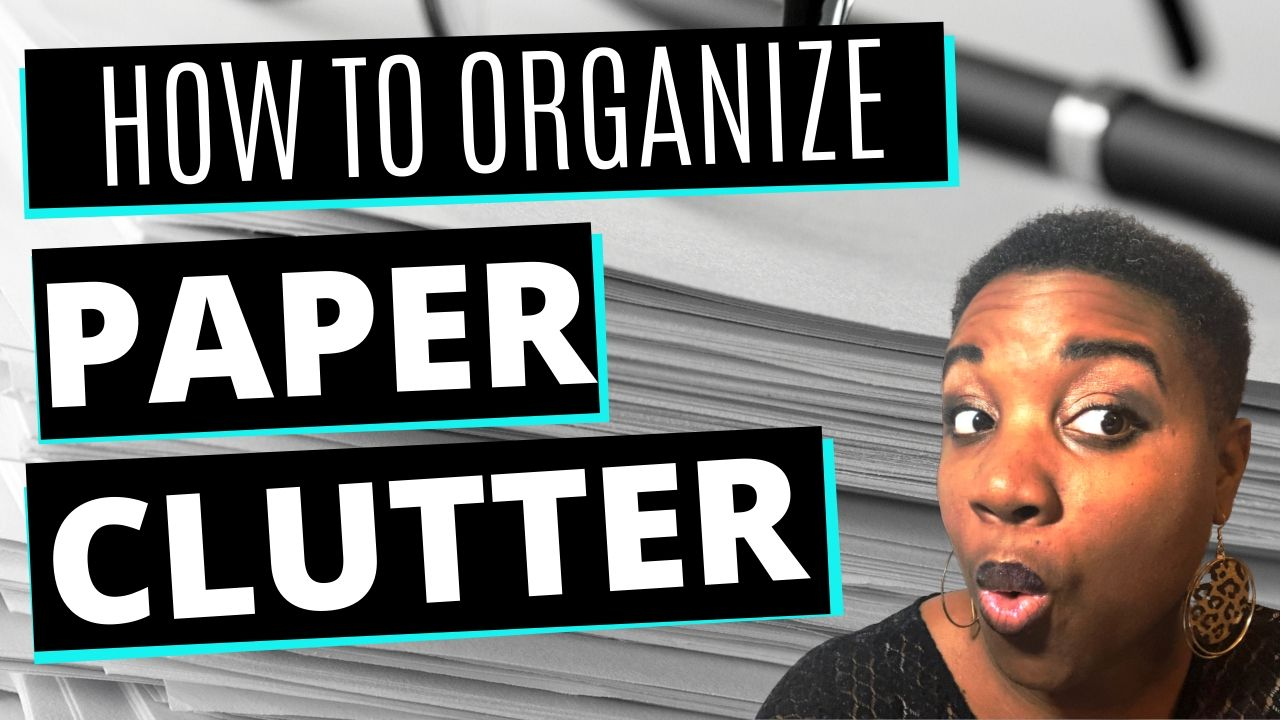 How to organize paperwork - Featured Image