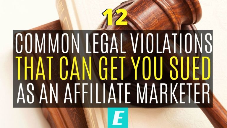12 Common Legal Issues for Affiliate Marketers - Featured Image