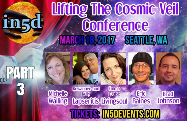 Eric Raines Speaks About Implants At In5d's Lifting The Cosmic Veil Conference