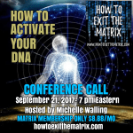 How To Activate Your DNA-Upcoming Conference Call