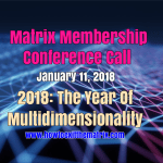 2018- The Year Of Multidimensionality