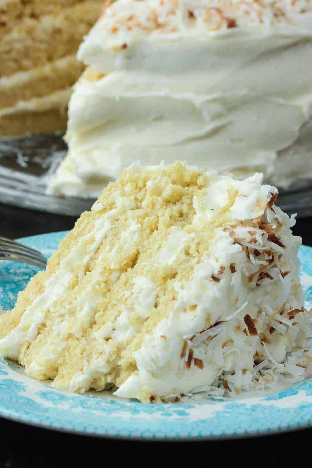 How To Make Coconut Cream Cake How To Feed A Loon