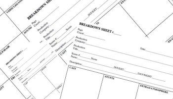 Script Breakdown: Free Script Breakdown Sheet