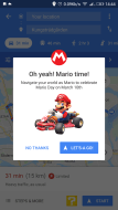 How to find Mario Kart on Google Maps