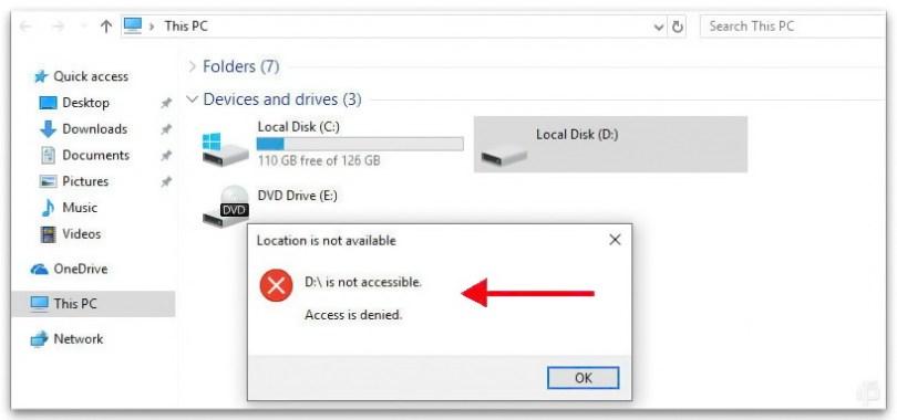 Sửa Lỗi Quyền Truy Cập Bị Từ Chối Vào Ổ C Trong Windows 10 - VERA STAR