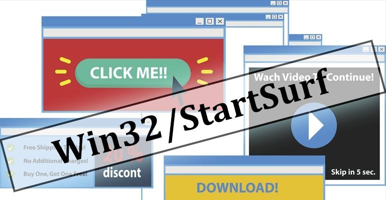 Adware Win32 StartSurf