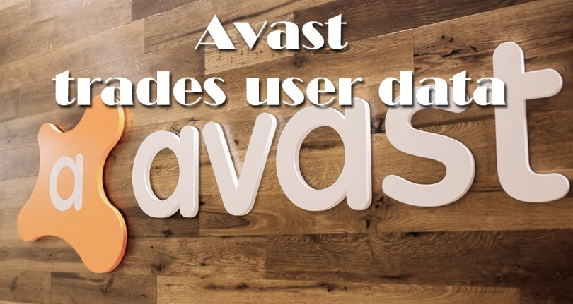 Avast trades user data